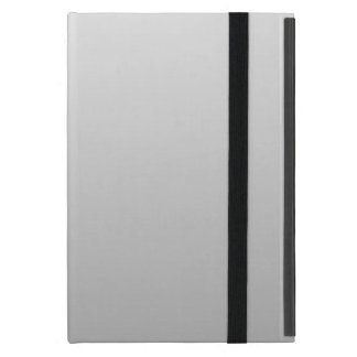 H Linear Gradient - White to Gray iPad Mini Cover