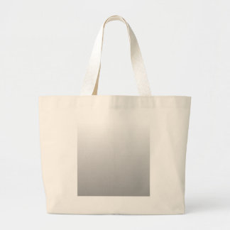 H Linear Gradient - White to Gray Tote Bags