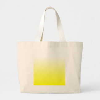 H Linear Gradient - White to Yellow Canvas Bag
