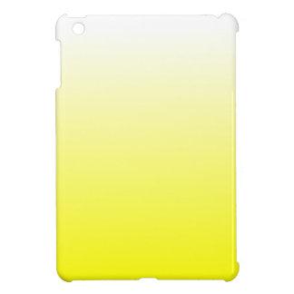 H Linear Gradient - White to Yellow iPad Mini Case