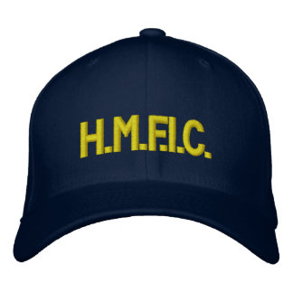 H.M.F.I.C. EMBROIDERED HAT