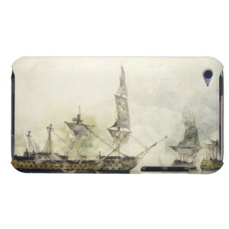H.M.S. Victory at the Battle of Trafalgar, 1805, ( Barely There iPod Cover