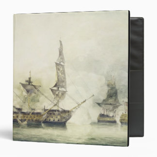 H.M.S. Victory at the Battle of Trafalgar, 1805, ( Vinyl Binders