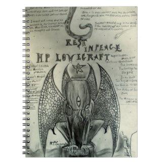 H.P. Lovecraft Notebook