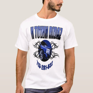 H TOWN RIDAZ CLOTHING - HTR Blue T-Shirt