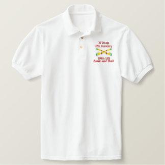 H Trp. 17th Cav. 198th LIB Crossed Sabers Shirt