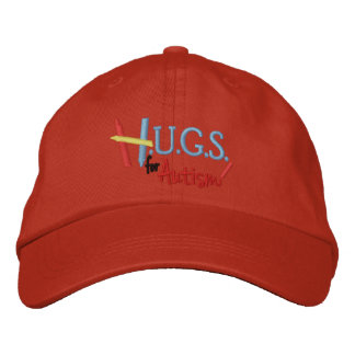 H.U.G.S. for Autism Embroidered Adjustable Hat