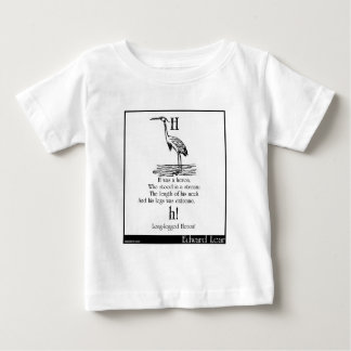 H was a heron baby T-Shirt