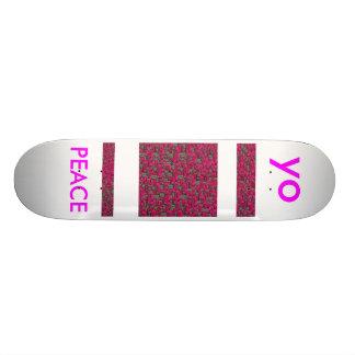 h yo PEACE Skateboard Deck