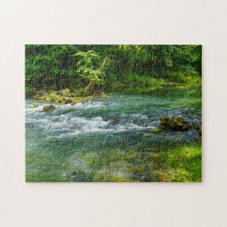 Ha Ha Tonka Rapids Jigsaw Puzzle