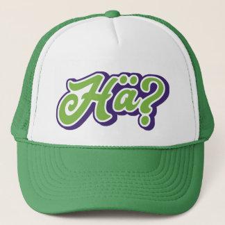 Hä? Huh? WTF? Funny German Slang Hat