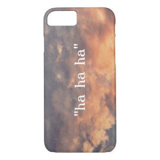 """""""ha  """" iPhone 7 case"""