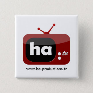 Ha-TV Button (Square)