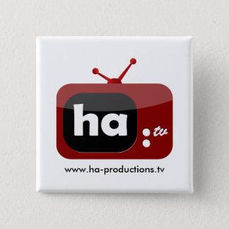 Ha-TV Button (Square)