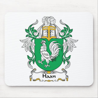 Haan Family Crest Mouse Pad