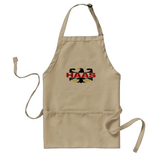 Haas Surname Standard Apron