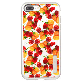 Habanero Chilies Red Peppers Orange Hot Food Incipio DualPro Shine iPhone 8 Plus/7 Plus Case