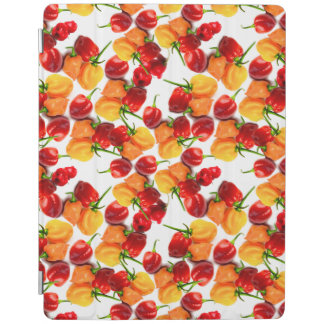 Habanero Chilies Red Peppers Orange Hot Food iPad Cover