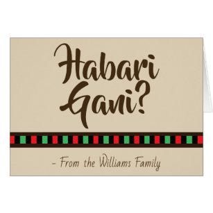 Swahili cards photocards invitations more habari gani kwanzaa greeting card m4hsunfo Choice Image