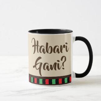 Habari Gani - Kwanzaa items | Mug