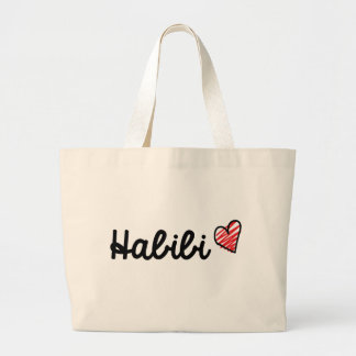 Habib2i Large Tote Bag