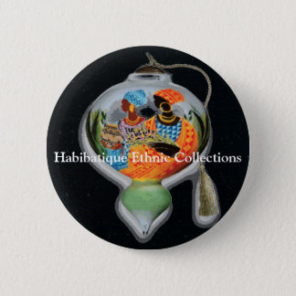 Habibatique Ethnic Collections... 2 Inch Round Button