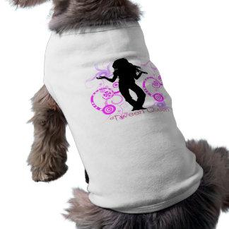 Habillement d'animal familier de la Reine de Tween Manteaux Pour Animaux Domestiques