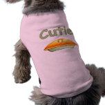 Habillement d'animal familier de tarte de Cutie Tee-shirts Pour Toutous