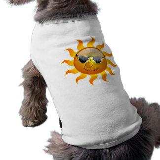 Habillement drôle d'animal familier de Sun d'été Manteaux Pour Animaux Domestiques