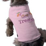 Habillement obtenu d'animal familier de festins tee-shirts pour toutous