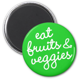 Habit #11 – Eat fruits & veggies Magnet
