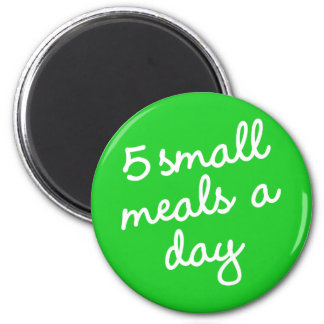 Habit #23 – 5 small meals a day magnet