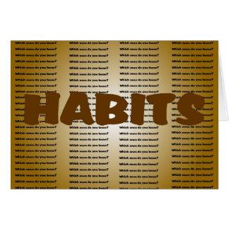 Habits Card