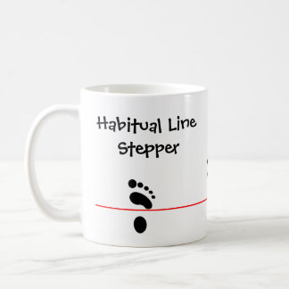 Habitual Line Stepper Coffee Mug