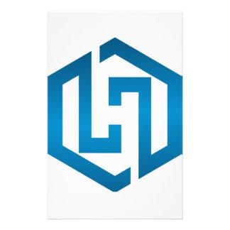 HachieSTEM Symbol Stationery Design