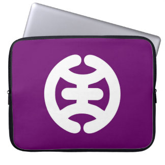 Hachioji Tokyo flag Japan city symbol Laptop Sleeve