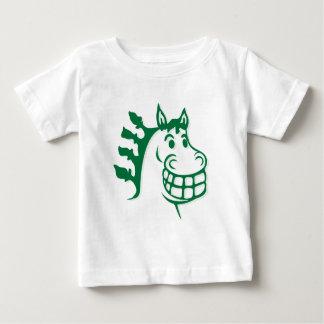 Hacienda Hay & Feed Green Horse Baby T-Shirt