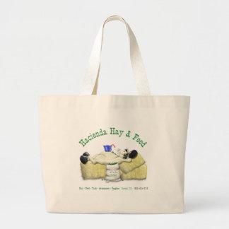 Hacienda Hay & Feed Laid back Horse Canvas Bags