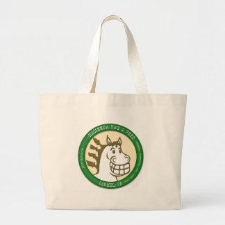 Hacienda Hay & Feed Logo Jumbo Tote Bag
