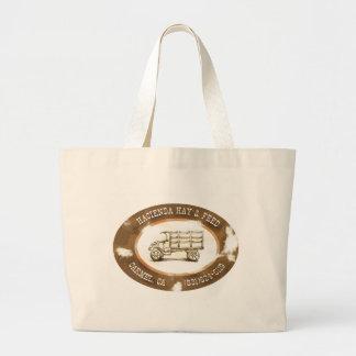 Hacienda Hay & Feed Vintage Tote Bag