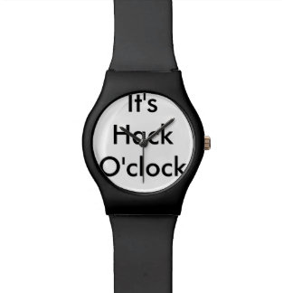 Hack O'clock Watch