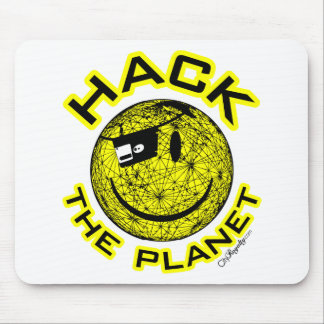 Hack the Planet Mouse Pad