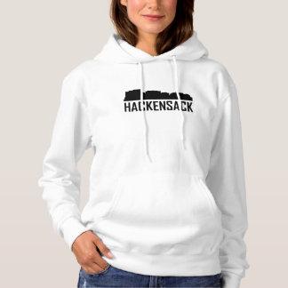 Hackensack New Jersey City Skyline Hoodie