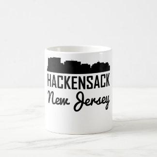 Hackensack New Jersey Skyline Coffee Mug
