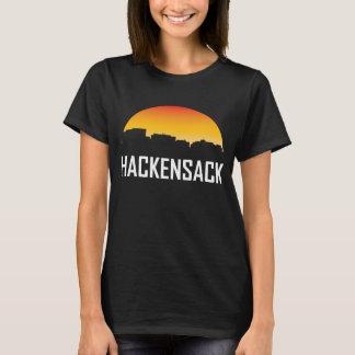 Hackensack New Jersey Sunset Skyline T-Shirt