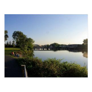 Hackensack River from Olsen Park Postcard