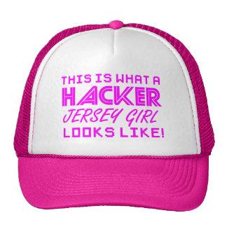 Hacker Jersey Girl - DEFCON 201 Hat