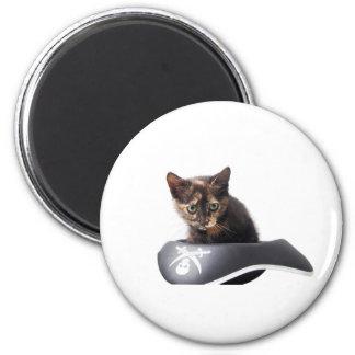 Hacker Kitten Magnet