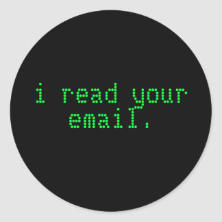 Hacker Laptop Sticker - Email