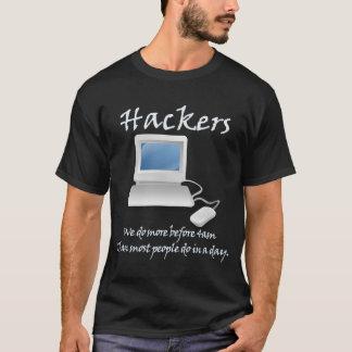Hackers 4am (v) T-Shirt